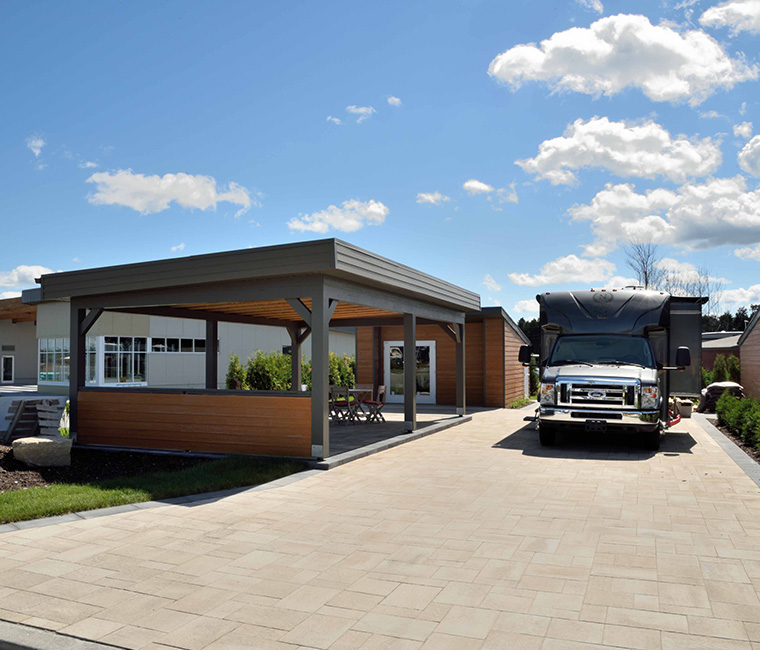 Le concept bois de la chaudi re for Acheter une maison au canada conditions